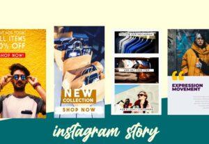 11681تصميم story او post لinstagram للاستخدام الشخصي أو المهني