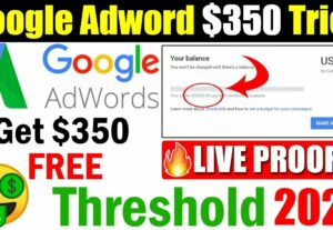12744أحصل على مديونية google adwords تبدأ من 50 إلى 500 دولارا