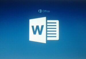 15855الكتابة على برنامج مايكرسوفت وورد