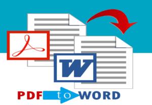 16918تحويل ملف Pdf إلى ملف Word او تحويل ملف Word إلى Pdf